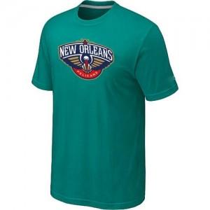 Tee-Shirt NBA New Orleans Pelicans Aqua Green Big & Tall - Homme