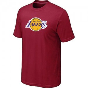 T-shirt principal de logo Los Angeles Lakers NBA Big & Tall Rouge - Homme