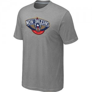 Tee-Shirt NBA New Orleans Pelicans Gris Big & Tall - Homme