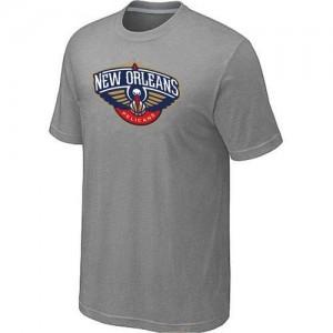 Tee-Shirt NBA New Orleans Pelicans Gris Big & Tall - Homme