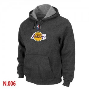 Sweat à capuche NBA Los Angeles Lakers Gris foncé - Homme