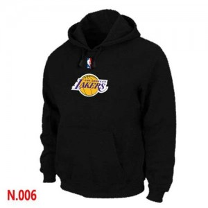 Sweat à capuche NBA Los Angeles Lakers Noir - Homme