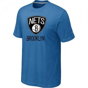 Tee-Shirt NBA Brooklyn Nets Bleu clair Big & Tall - Homme