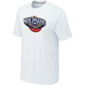 Tee-Shirt NBA Blanc New Orleans Pelicans Big & Tall Homme