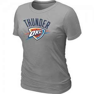 Tee-Shirt Gris Big & Tall Oklahoma City Thunder - Femme