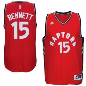 Toronto Raptors Anthony Bennett #15 climacool Swingman Maillot d'équipe de NBA - Rouge pour Homme
