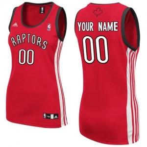 Maillot NBA Swingman Personnalisé Toronto Raptors Road Rouge - Femme