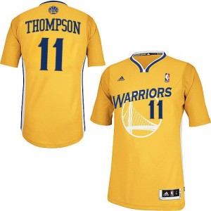 Golden State Warriors Klay Thompson #11 Alternate Swingman Maillot d'équipe de NBA - Or pour Femme