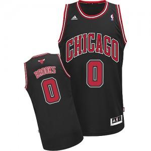 Maillot NBA Swingman Aaron Brooks #0 Chicago Bulls Alternate Noir - Homme