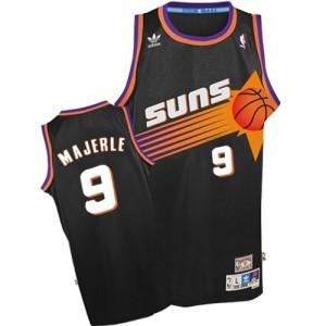 Phoenix Suns Dan Majerle #9 Throwback Authentic Maillot d'équipe de NBA - Noir pour Homme