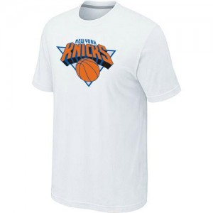 Tee-Shirt Blanc Big & Tall New York Knicks - Homme