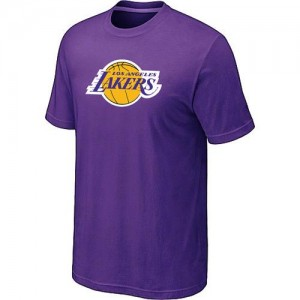 Tee-Shirt NBA Los Angeles Lakers Big & Tall Violet - Homme