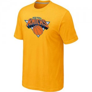 Tee-Shirt Jaune Big & Tall New York Knicks - Homme