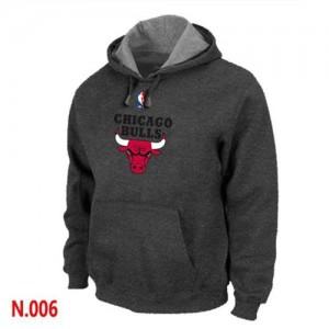 Chicago Bulls Sweat à capuche d'équipe de NBA - Noir pour Homme