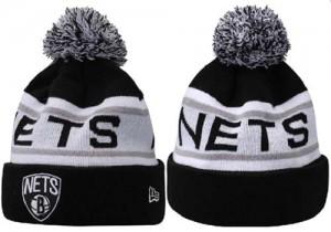 Bonnet Knit Brooklyn Nets NBA DNFJUSD8
