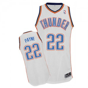 Maillot Authentic Oklahoma City Thunder NBA Home Blanc - #22 Cameron Payne - Homme