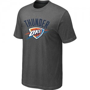 Tee-Shirt Gris foncé Big & Tall Oklahoma City Thunder - Homme