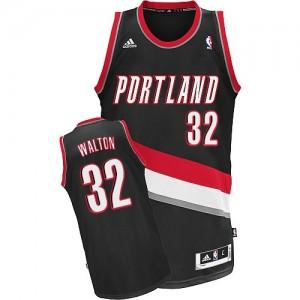 Maillot NBA Swingman Bill Walton #32 Portland Trail Blazers Road Noir - Homme