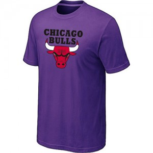 Tee-Shirt NBA Violet Chicago Bulls Big & Tall Homme
