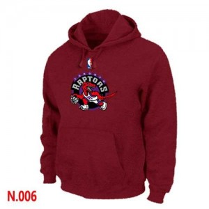 Sweat à capuche NBA Rouge Toronto Raptors Homme