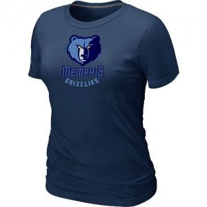 Tee-Shirt Marine Big & Tall Memphis Grizzlies - Femme