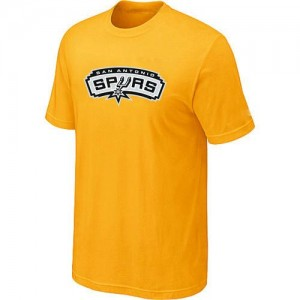T-shirt principal de logo San Antonio Spurs NBA Big & Tall Jaune - Homme