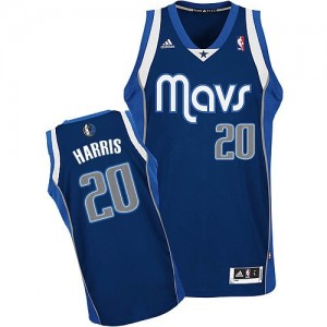 Maillot NBA Swingman Devin Harris #20 Dallas Mavericks Alternate Bleu marin - Homme