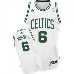 Maillot NBA Swingman Bill Russell #6 Boston Celtics Home Blanc - Homme