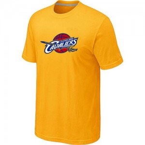 Tee-Shirt NBA Jaune Cleveland Cavaliers Big & Tall Homme