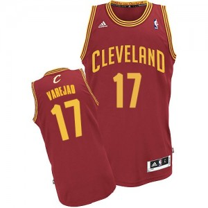 Maillot Swingman Cleveland Cavaliers NBA Road Vin Rouge - #17 Anderson Varejao - Homme