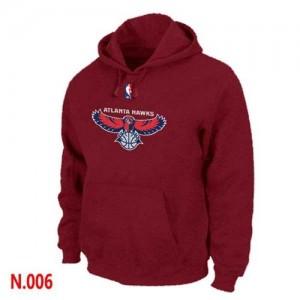 Sweat à capuche Rouge Atlanta Hawks - Homme