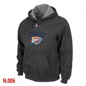 Sweat à capuche NBA Oklahoma City Thunder Gris foncé - Homme