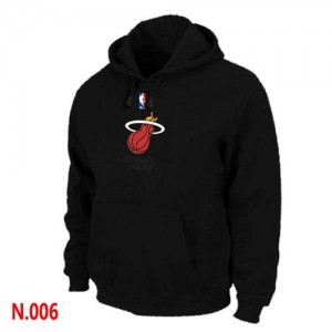 Miami Heat Noir Sweat à capuche d'équipe de NBA Magasin d'usine - pour Homme