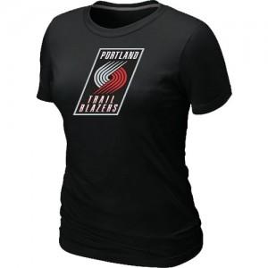 Tee-Shirt NBA Noir Portland Trail Blazers Big & Tall Femme